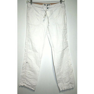 Converse One Star Womens Size 10 White Pants